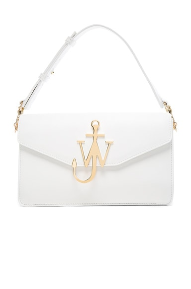 J.W. Anderson Logo Purse in White