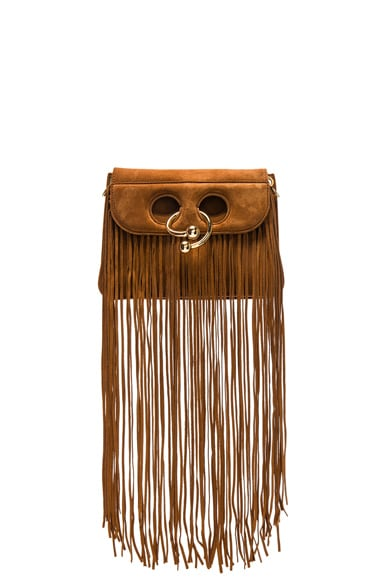 Mini Pierce Leather Fringe Bag