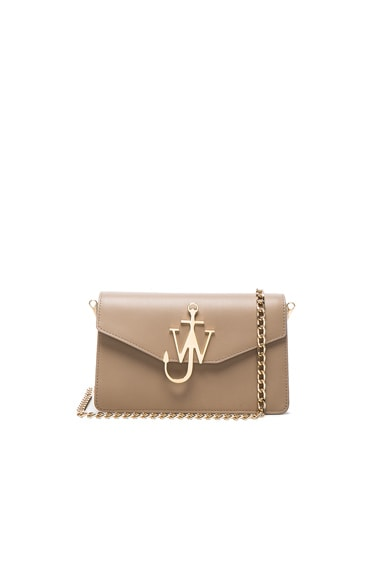 J.W. Anderson Logo Chain Bag in Ash