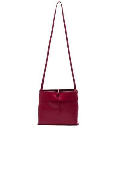 Kara Tie Crossbody Bag in Tibetan Red
