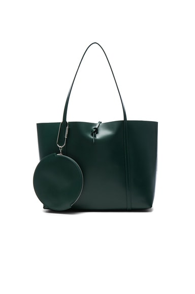 Kara Tie Tote in Forest