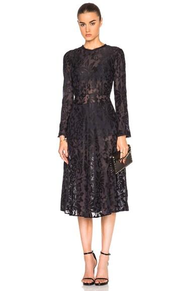 Kate Sylvester Adele Dress in Black Ink
