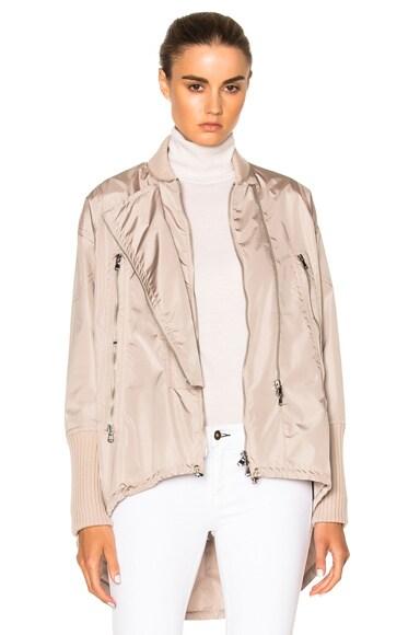 KAUFMANFRANCO Tech Nylon Jacket in Ginger