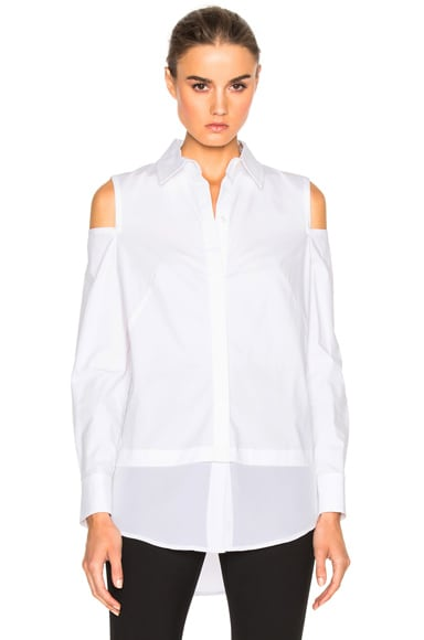 Stretch Poplin Top