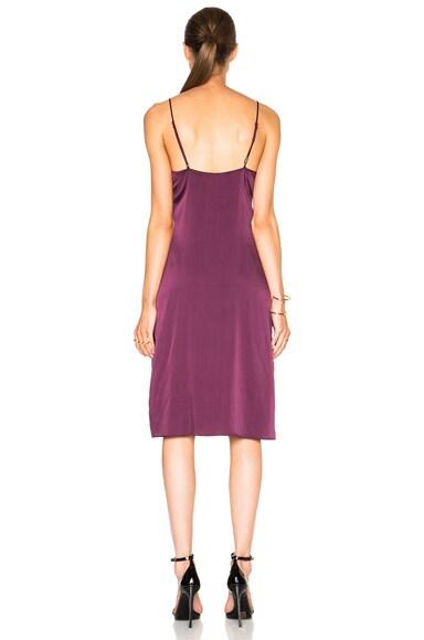 Lace Paneled Inset Dress