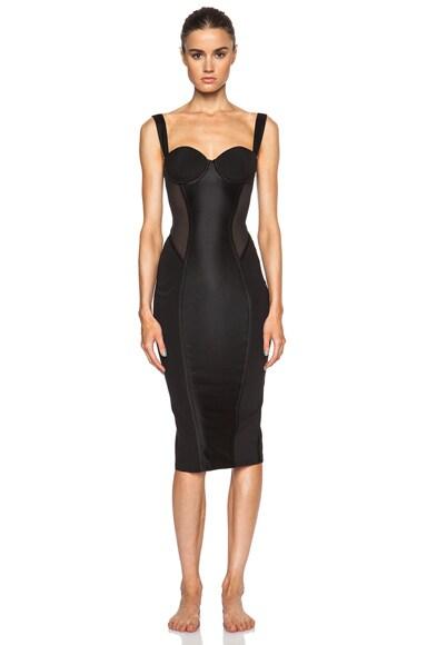 Kiki de Montparnasse Expose Dress in Black