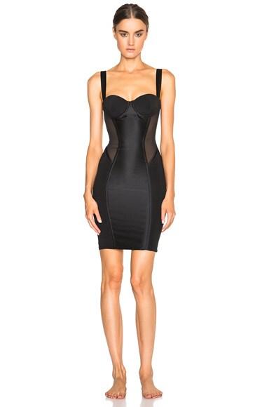 Kiki de Montparnasse Expose Slip Dress in Black