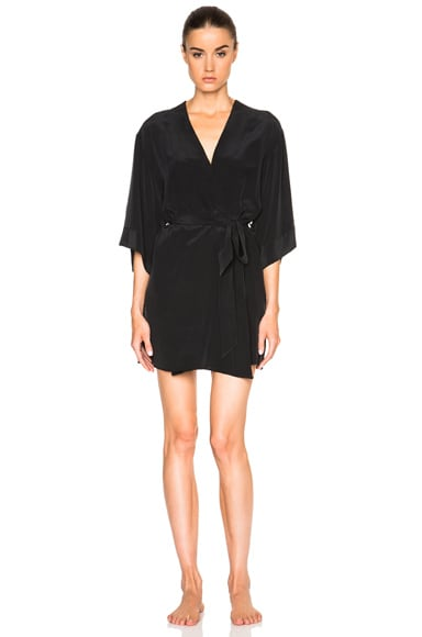 Kiki de Montparnasse Perfect Robe in Black