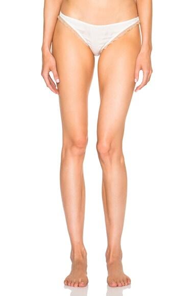 Kiki de Montparnasse Le Reve Panty in Ivory & Nude