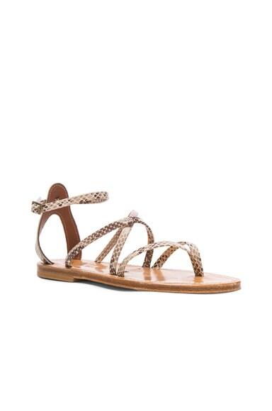 Epicure Leather Sandals