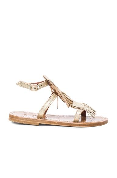 Leather Corsair Sandals