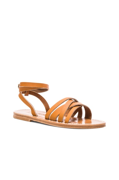 Leather Galapagos Sandals