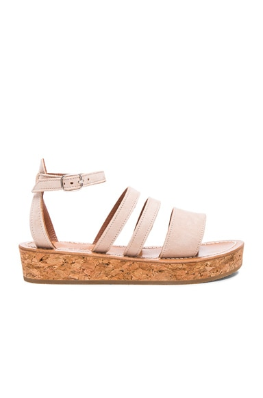 Suede Clairval Sandals