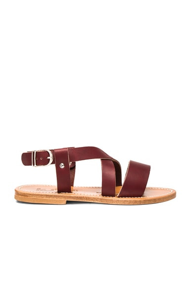 Leather Corentin Sandals