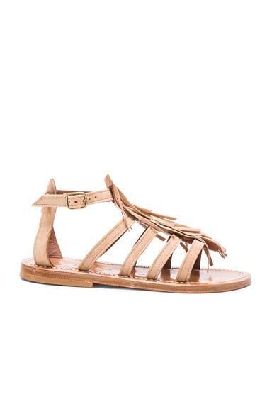 Suede Fregate Sandals