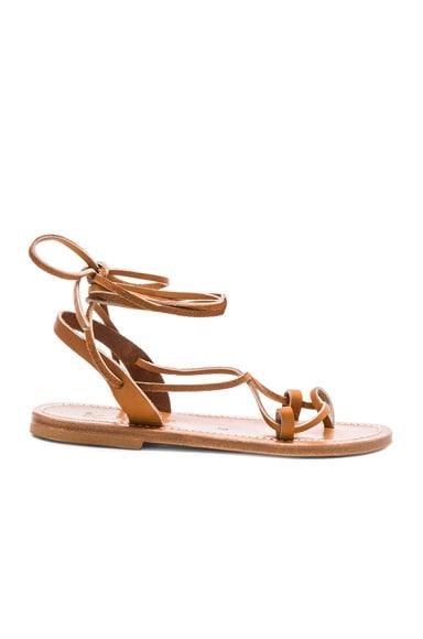 Leather Lucile Sandals K Jacques