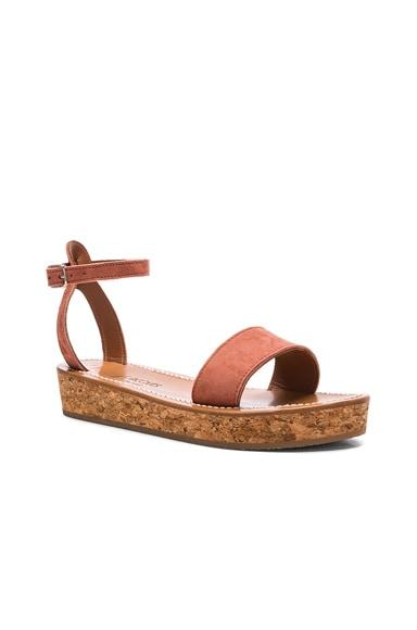 Suede Thalloire Sandals