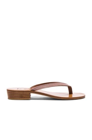 Suede Prato Sandals K Jacques