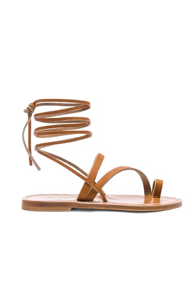 Ellada Ankle Wrap Sandal