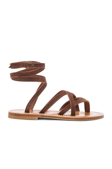 Zenobie Ankle Wrap Sandal