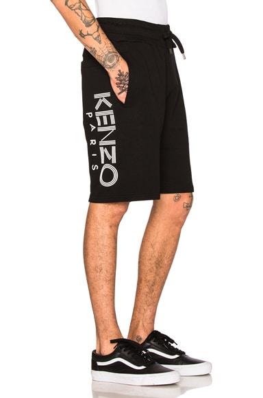 Kenzo Sweat Shorts in Black