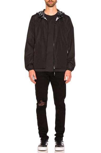 Reversible Nylon Jacket