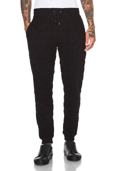 KENZO Bold Symbols 3D Jacquard Sweatpants in Black