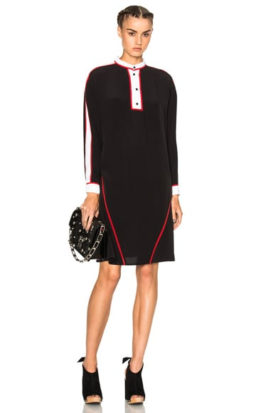 Kenzo Silk Dress in Black