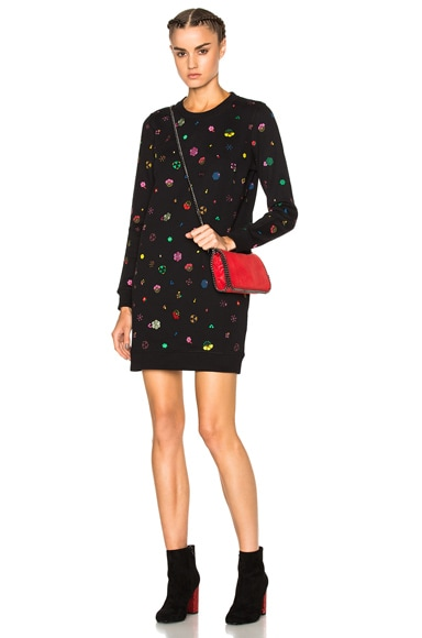 Tanami Flower Sweater Dress