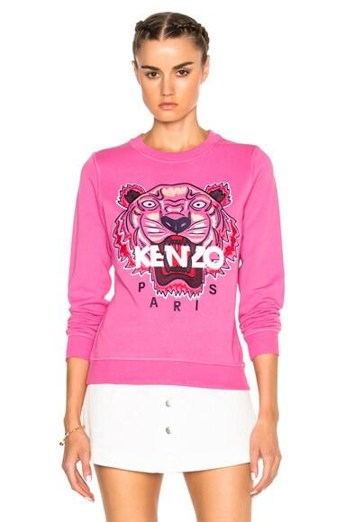 Kenzo Tiger Sweatshirt in Begonia