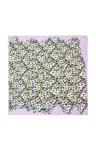 Flower Curtain Scarf