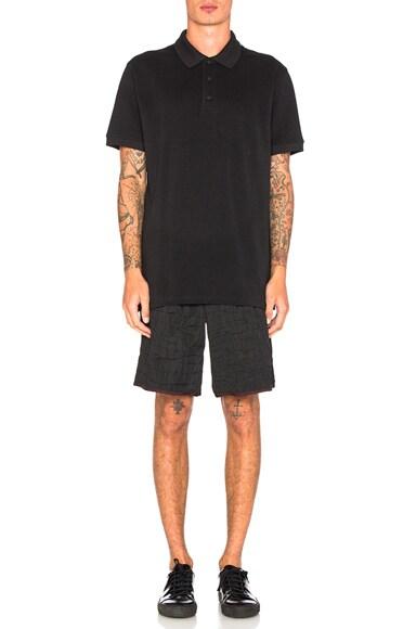 Croc Print Shorts