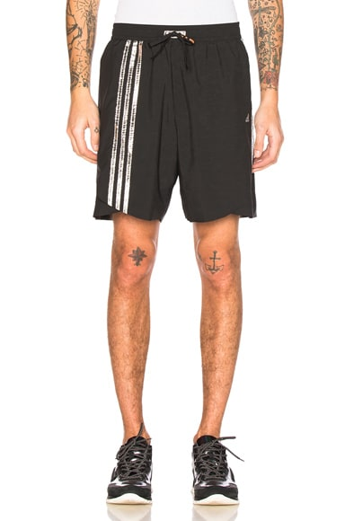 kolor x Adidas Track Shorts in Black
