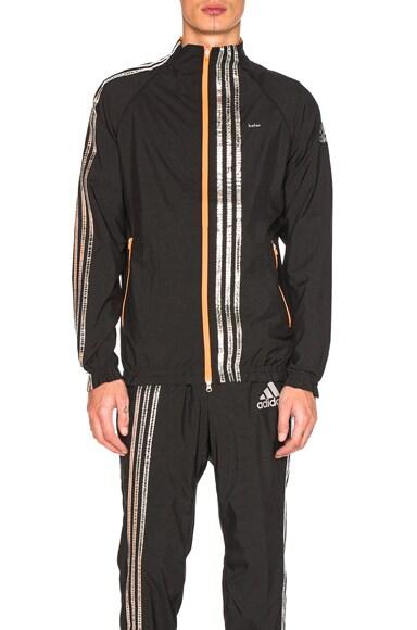 kolor x Adidas Track Jacket in Black