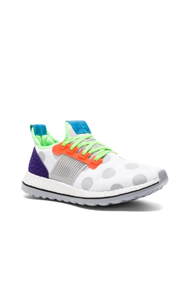 kolor x Adidas Pure Boost in Clear Onyx & White