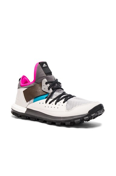 kolor x Adidas Knit Response Trail Sneakers in Clear Onyx