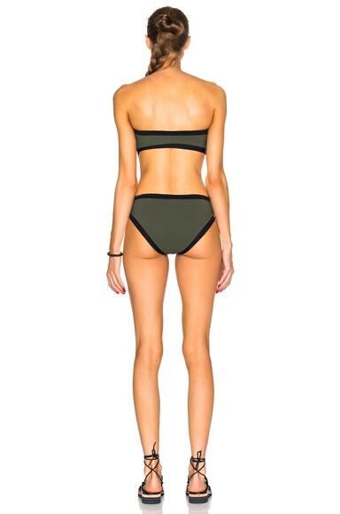 Contrast Curves Swimsuit