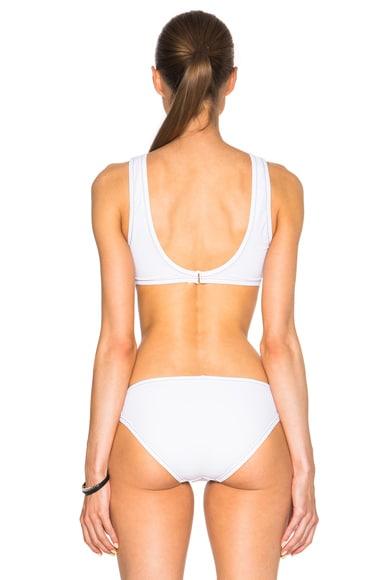 Rings Crop Bikini Top