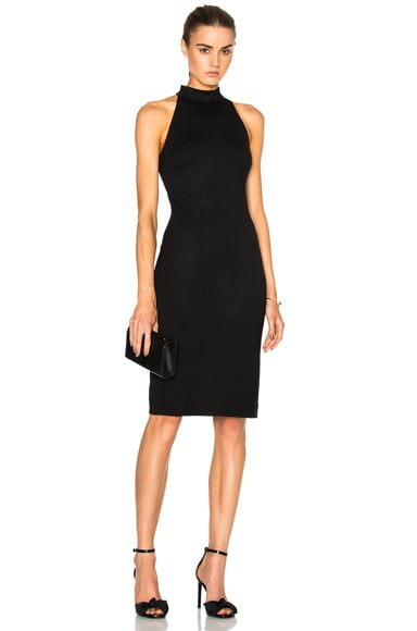 L'AGENCE Francesca Dress in Black