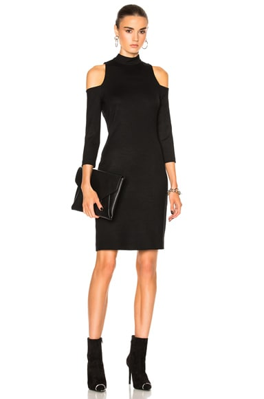 L'AGENCE Nico Dress in Black