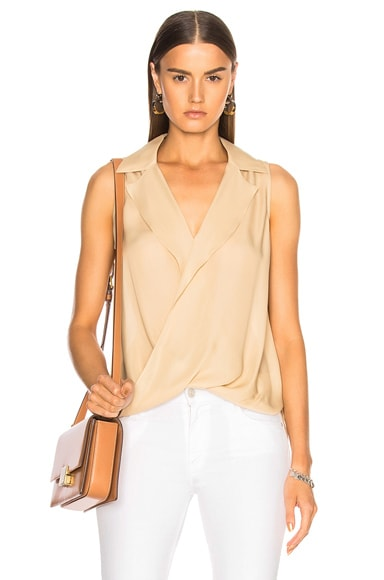 Freja Draped Blouse
