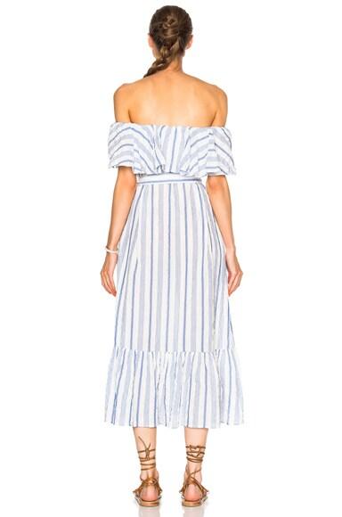 Mira Flounce Dress