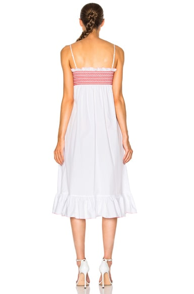 Smocked Slip Dress