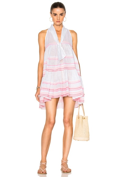 Sheer Mini Baby Doll Dress