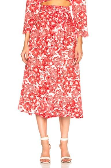 Linen Beach Skirt