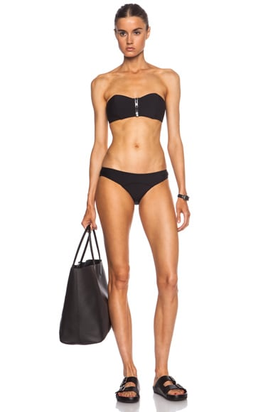 Lisa Marie Fernandez Lauren Bikini in Black Neoprene