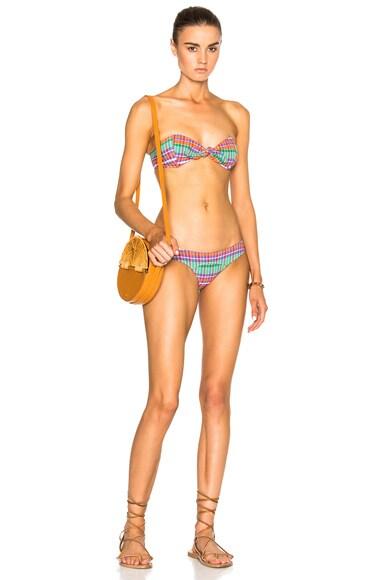 Lisa Marie Fernandez Poppy Bikini in Madras