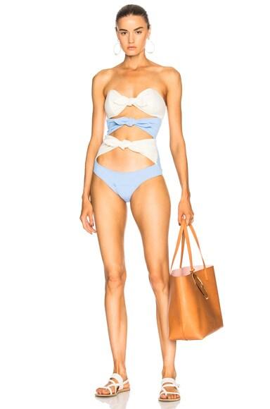 Triple Poppy Swimsuit