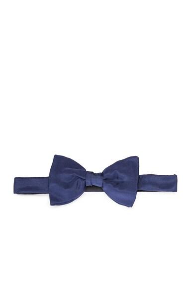 Lanvin Grosgrain Bow Tie in Navy