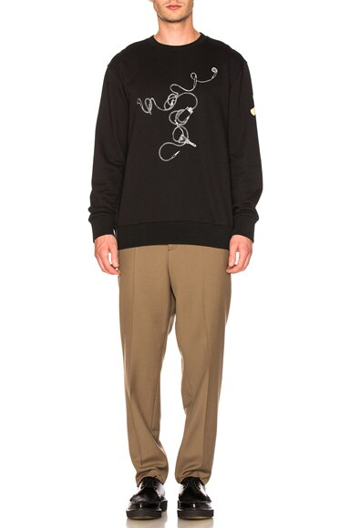 Cedric Rivrain Printed Sweatshirt